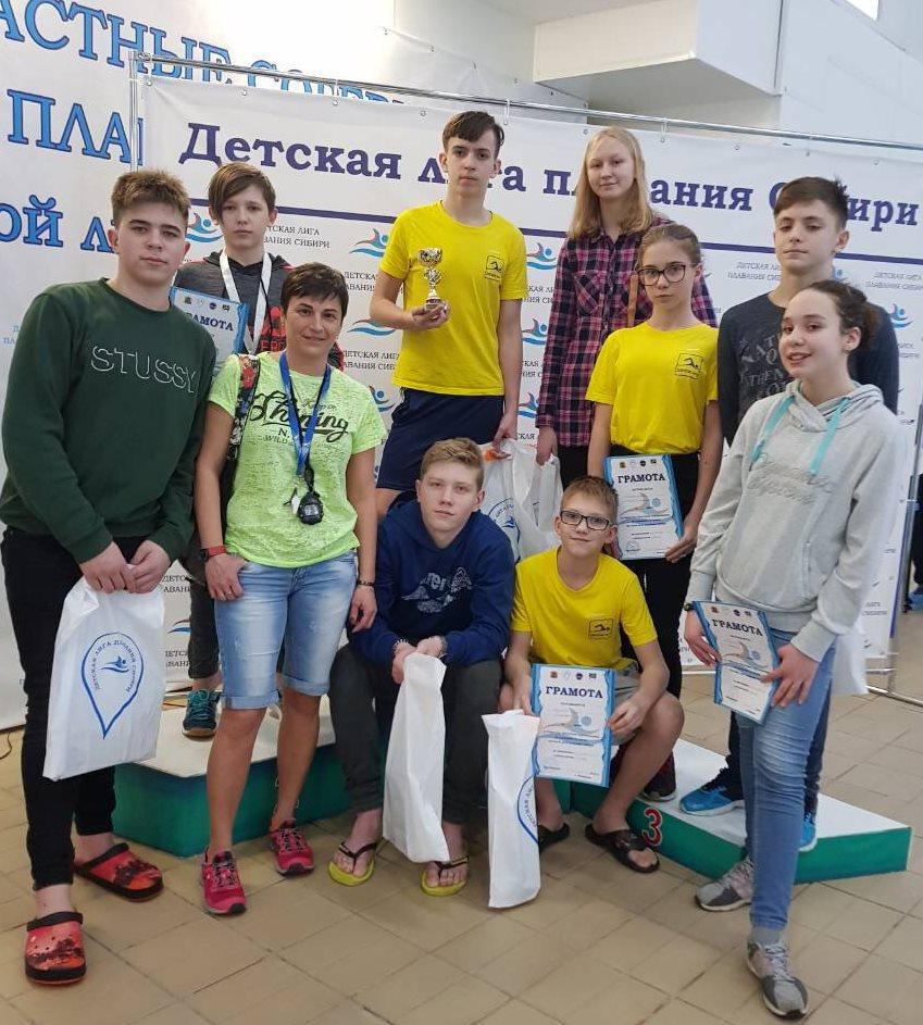 Открытые областные лично-командные соревнования по плаванию на призы детской лиги плавания Сибири среди юношей и девушек 2001-2007 г.р.
