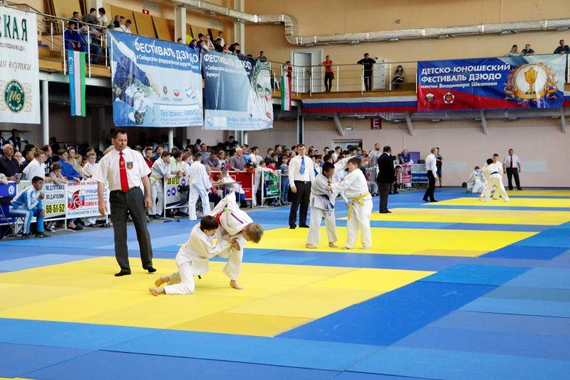XV международный детско-юношеский фестиваль дзюдо имени Владимира Шкалова