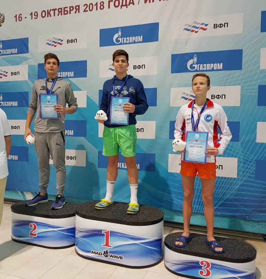 Всероссийские соревнования по плаванию «Кубок Сибири» (III этап)